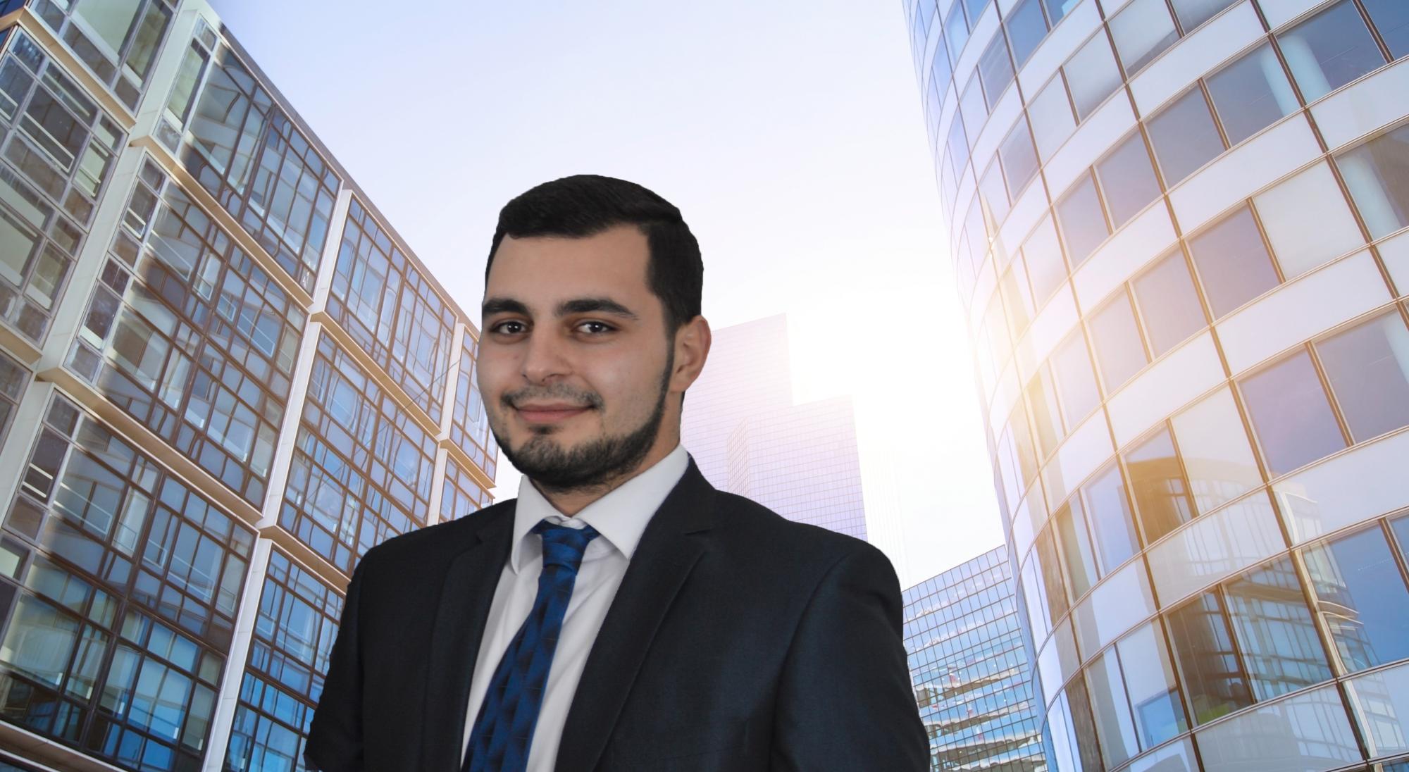 Narek -  Auszubildender zum Kaufmann für Versicherungen und Finanzen