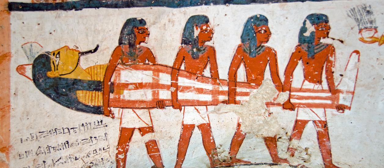 Mumien bei der Allianz