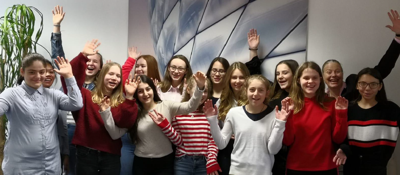 Girls'Day in der Vertriebsdirektion Köln
