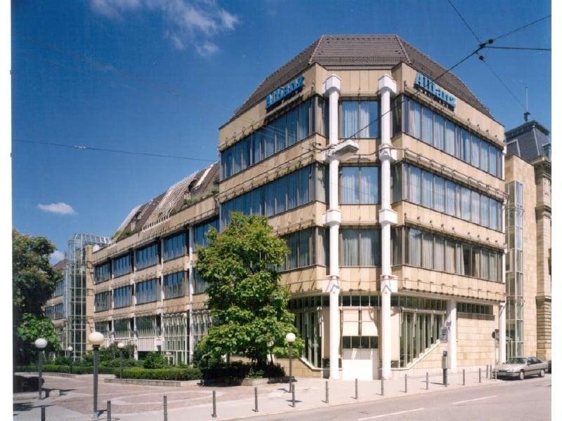 Der Hauptsitz der Allianz in Stuttgart