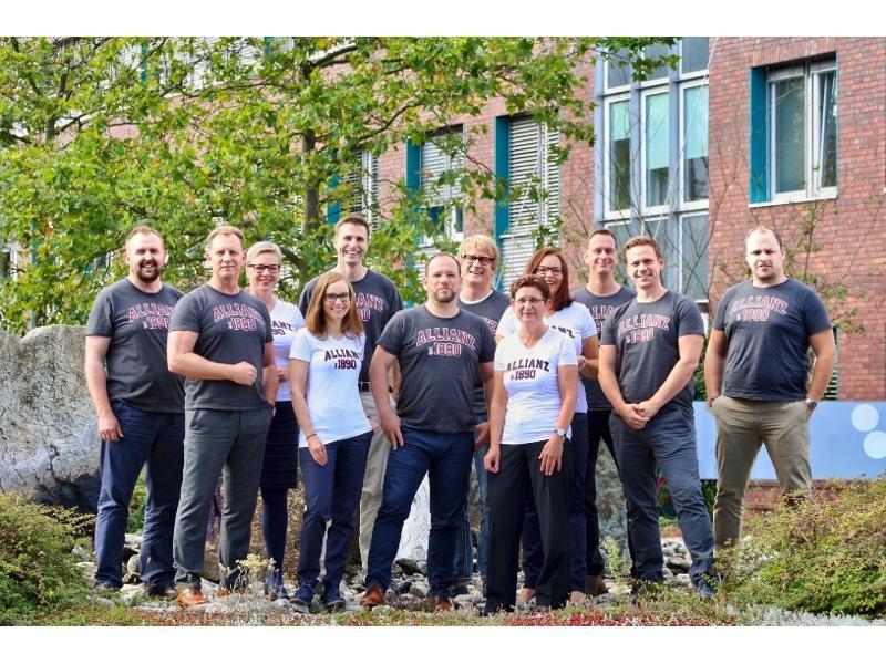 Das Team der Geschäftsstelle Potsdam