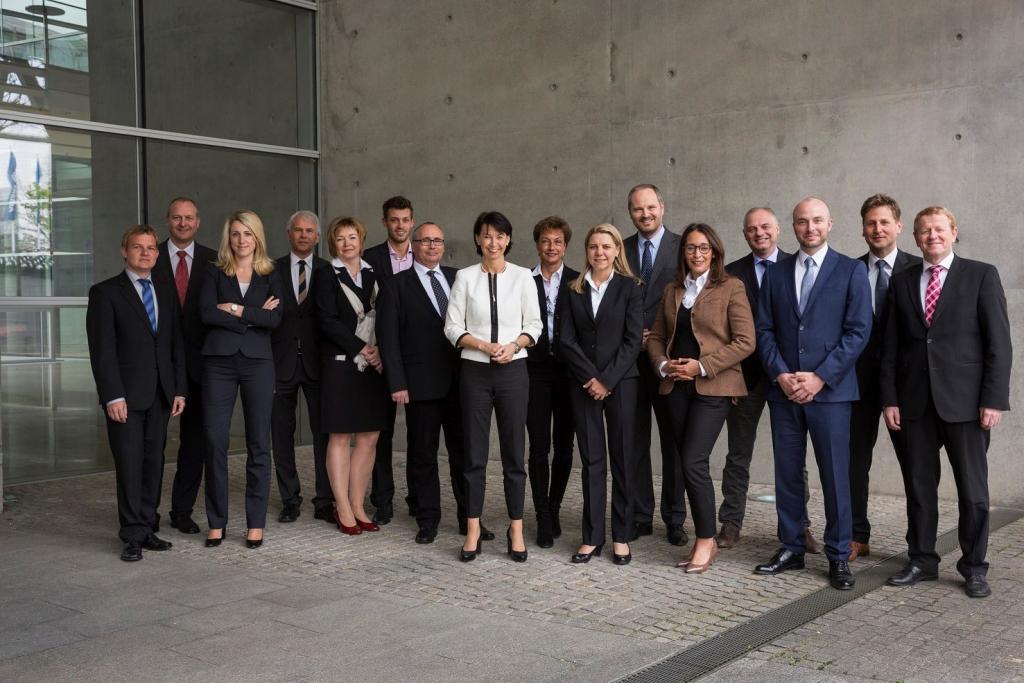 Team der Vertriebsdirektion München auf der offiziellen Seite für Karriere im Vertrieb und Versicherungsvertrieb in Südbayern und München