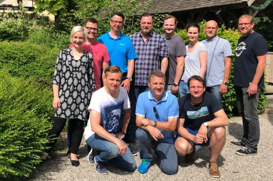 Der Führungskreis der Geschäftsstelle Bautzen