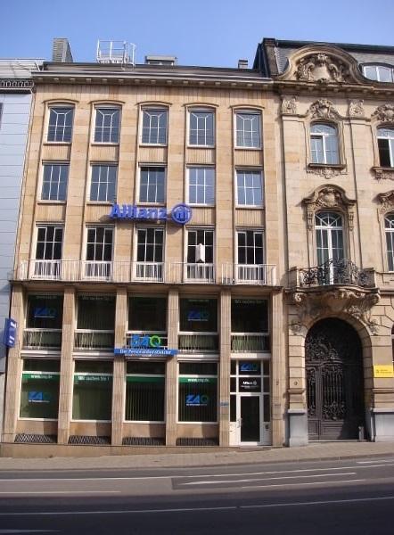 Geschäftsstelle in der Theaterstr. 7 in Aachen