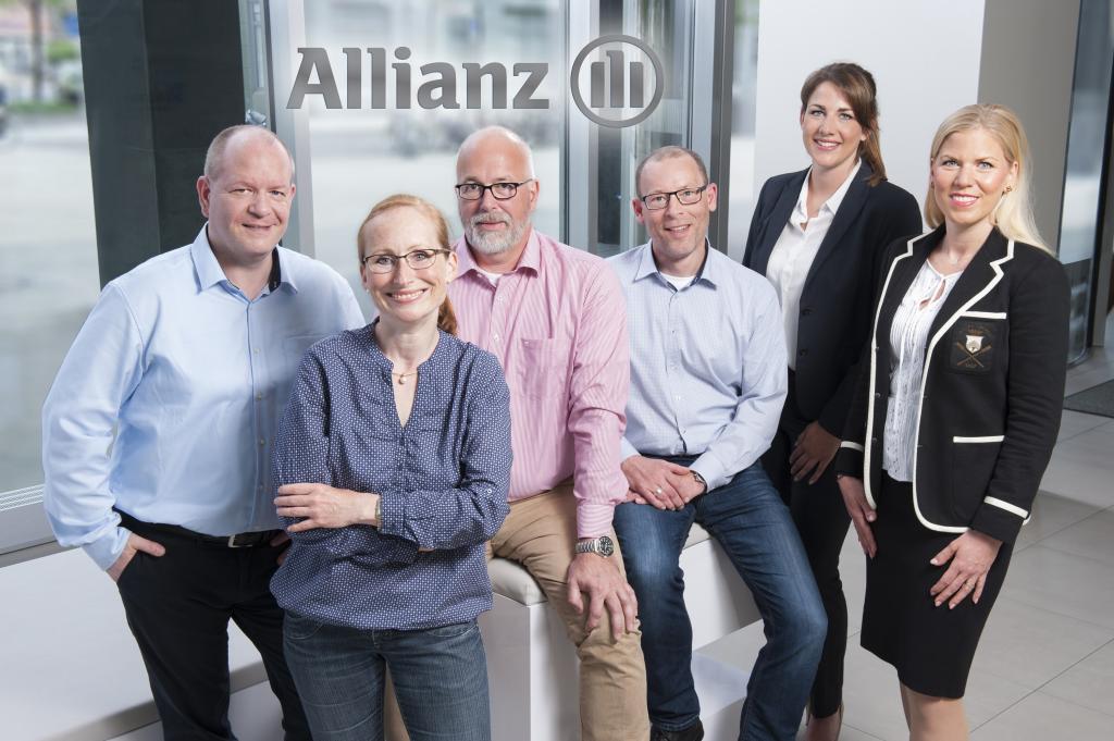 Innendienst der Allianz Hannover