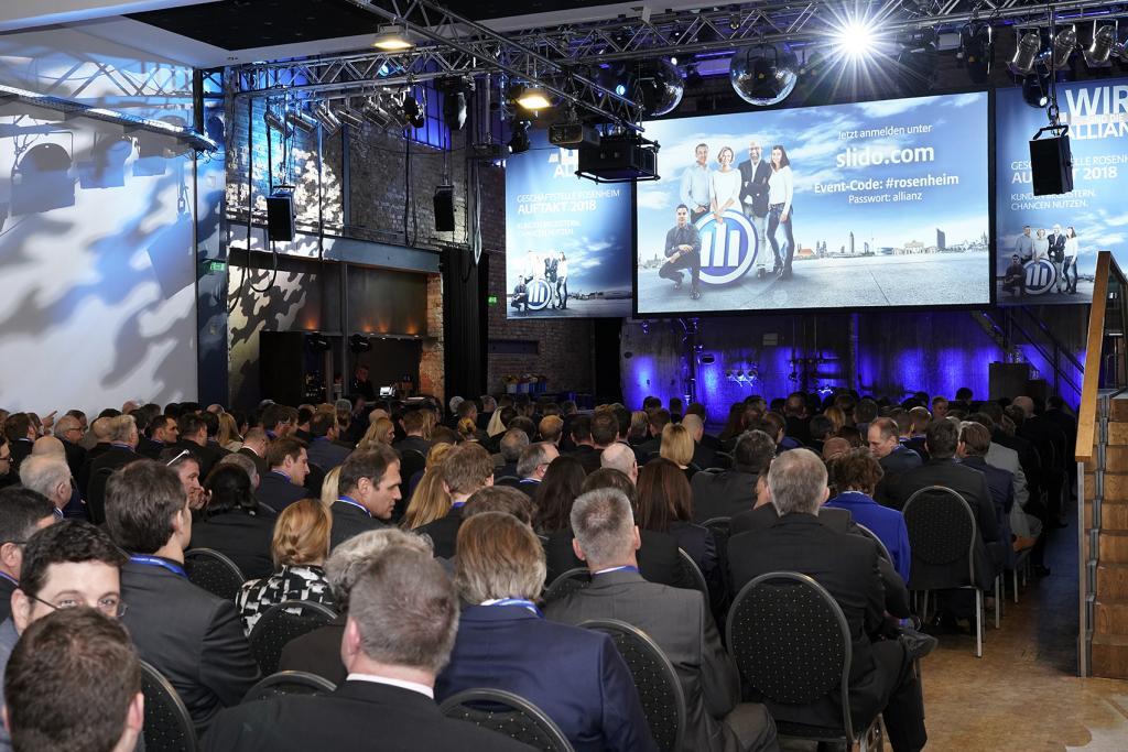Jahresauftakttagung 2018 Allianz Rosenheim