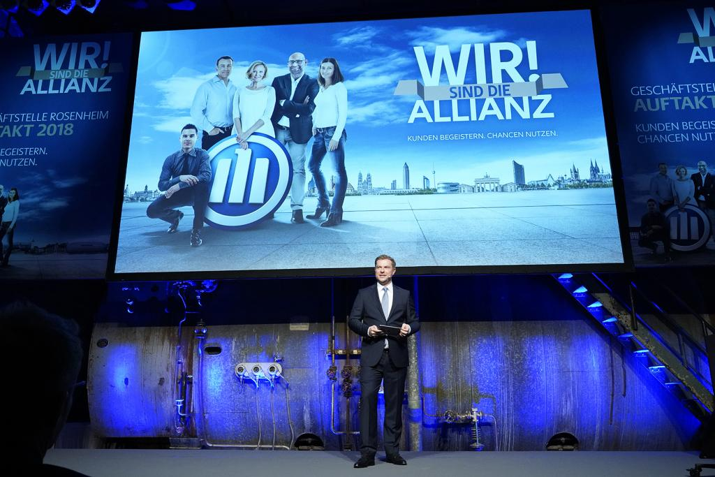 GSL Staat Jahresaufttakt Rosenheim Allianz