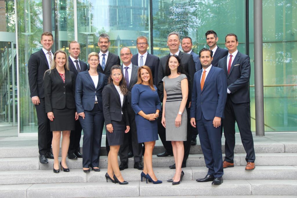 Führungskreis der Geschäftsstelle Frankfurt