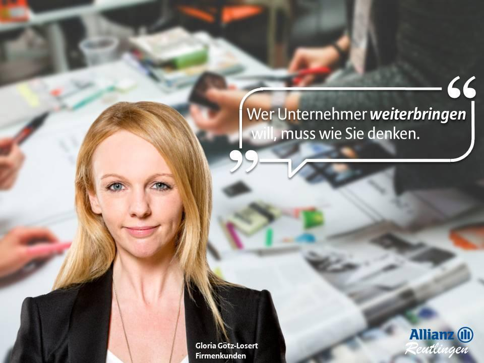 Gloria Götz-Losert, Firmenkunden
