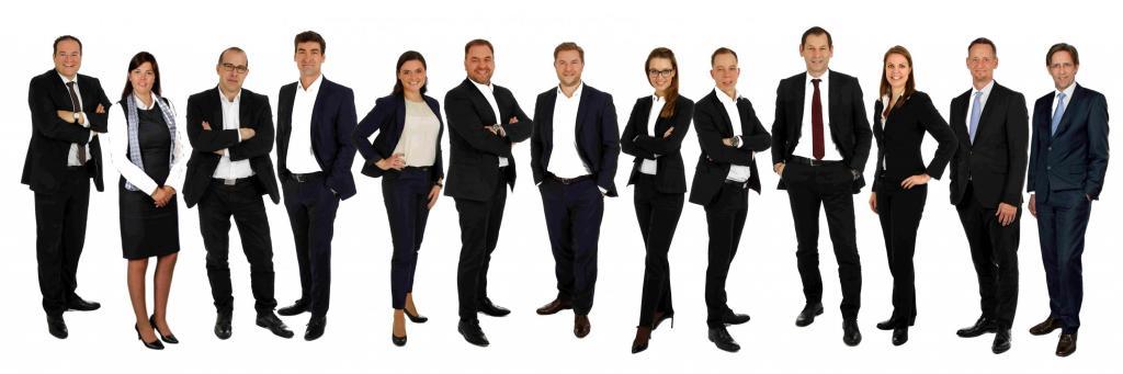 Führungskräfte der Geschäftsstelle in Rosenheim
