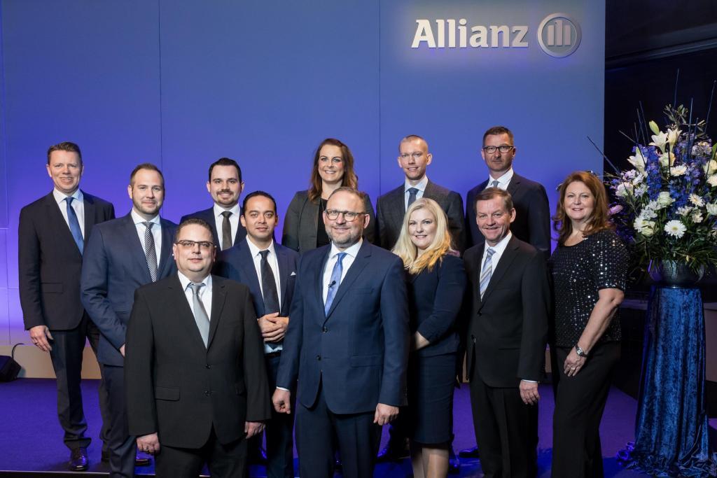 Team der Allianz Geschäftsstelle Berlin