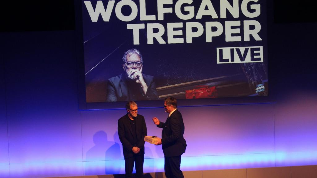 Wir begrüßen Gäste! Diesmal: Kabarettist Wolfgang Trepper