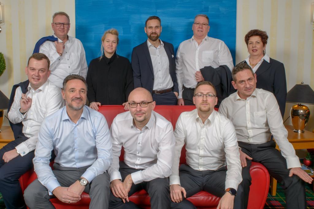 Team der Geschäftsstelle Berlin-Brandenburg