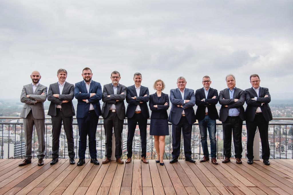 Führungskräfte der Geschäftsstelle Saarbrücken