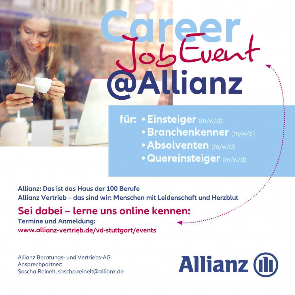 CAREER JOB EVENT @ALLIANZ