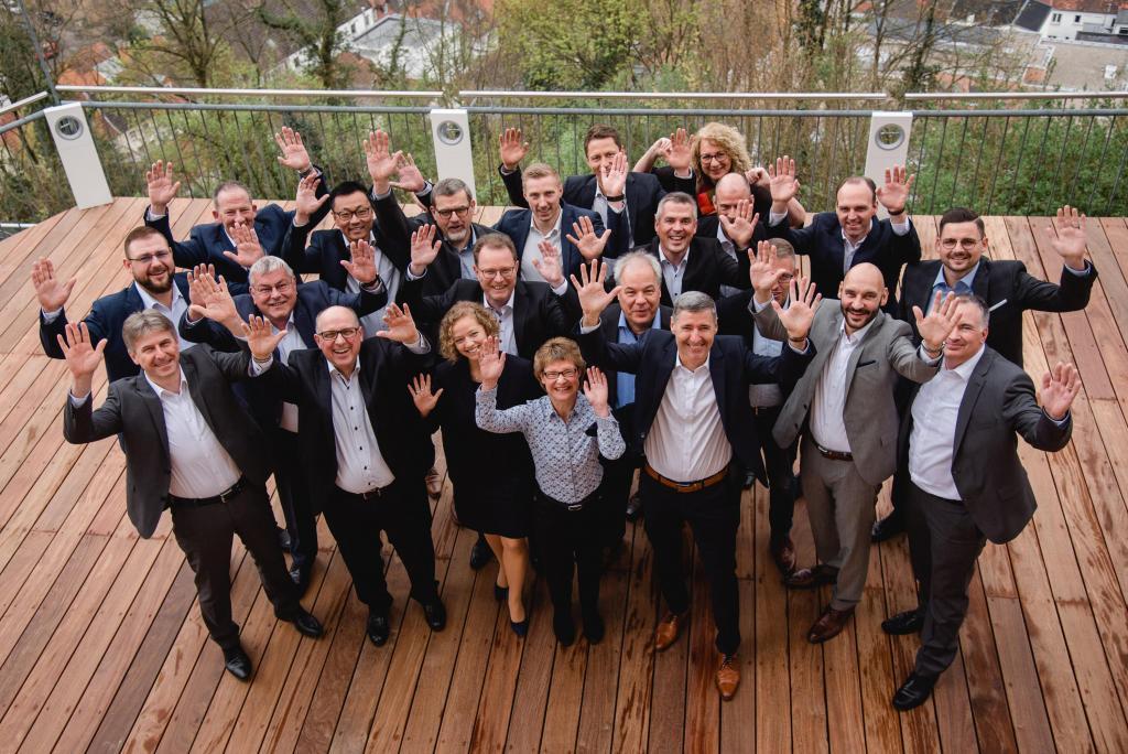 Führungskräfte und Spezialisten der Geschäftsstelle Saarbrücken