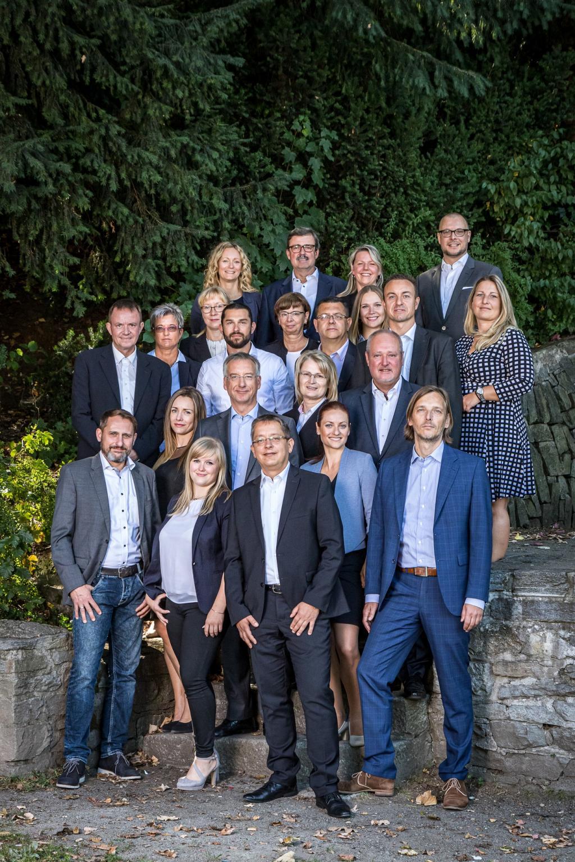 Das Team der Geschäftsstelle Chemnitz