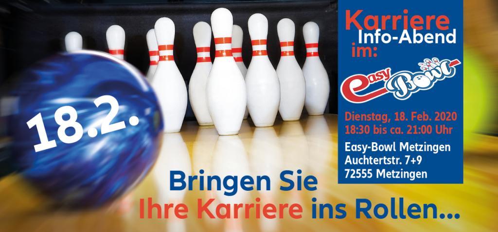 Karriere Info-Abend in Mtzingen Einladung