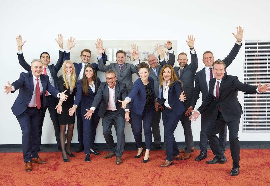 Das Team der Geschäftsstelle Hamburg