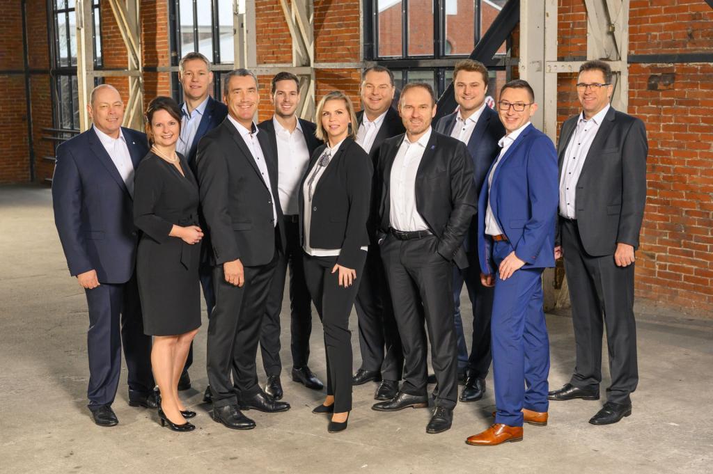 Führungskreis der Geschäftsstelle Oldenburg