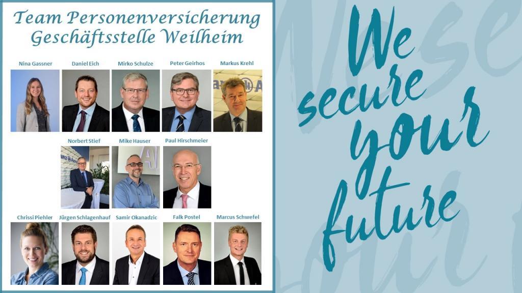Spezialistenteam für Personenversicherung