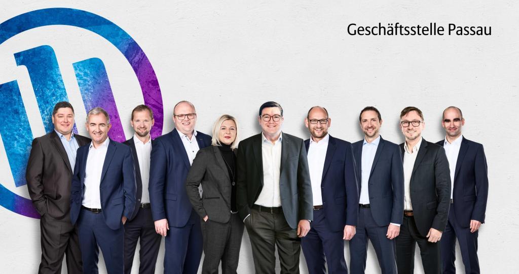 Die Führungskräfte der Geschäftsstelle Passau