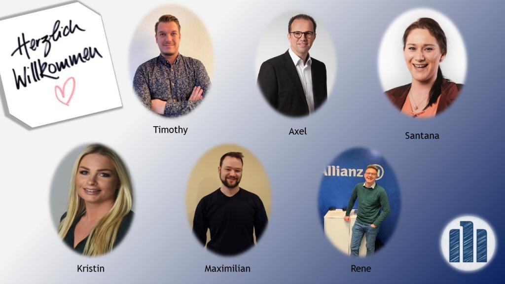 Unsere neuen MitarbeiterInnen zum Januar 2021