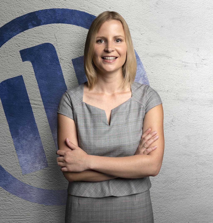 Lydia Koch - Assistentin des Vertriebsdirektors