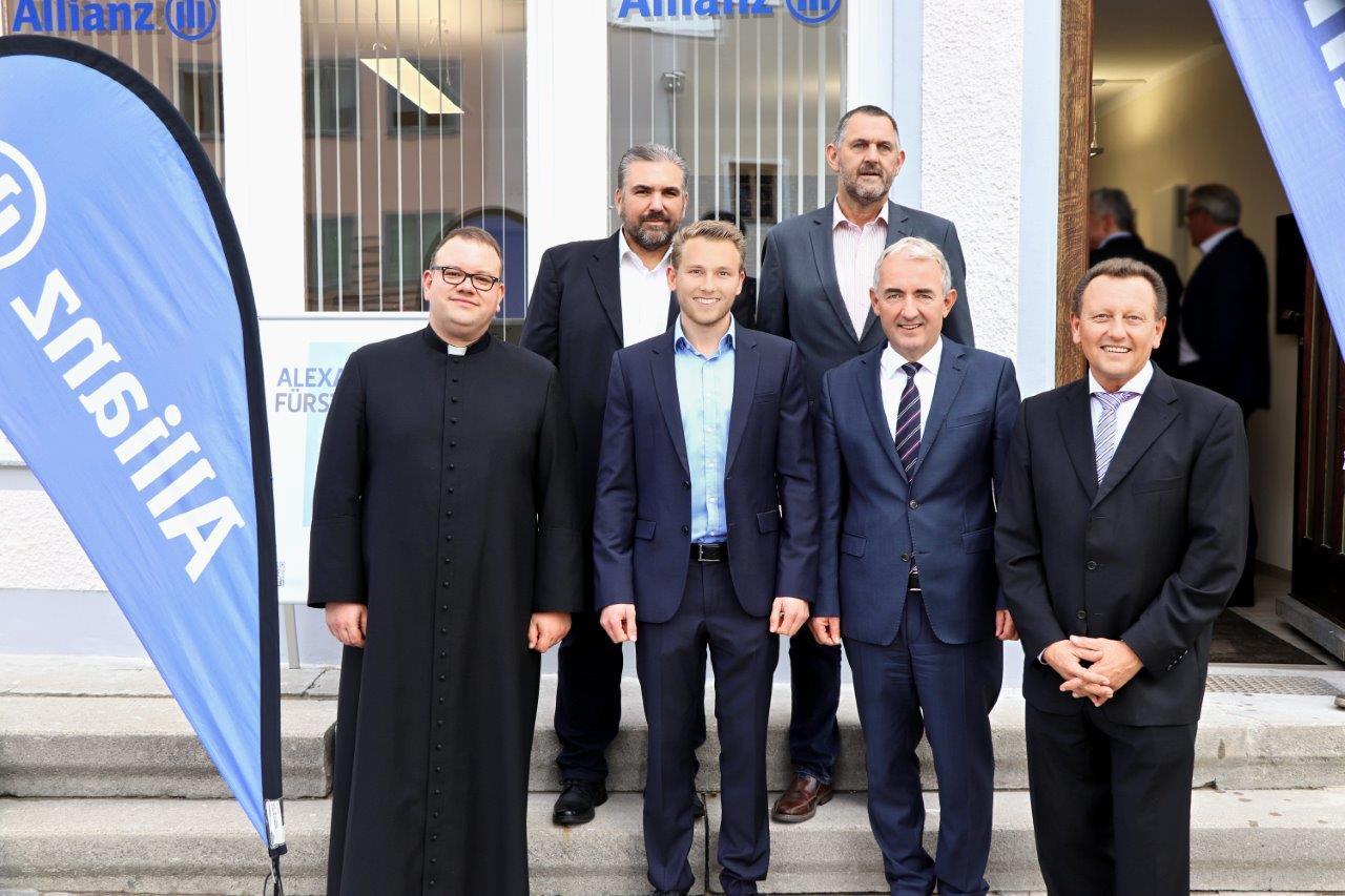 Agentureröffnung der Allianz in Kößlarn