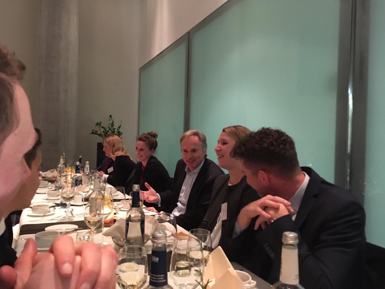 Dinner mit dem Allianz Vorstand