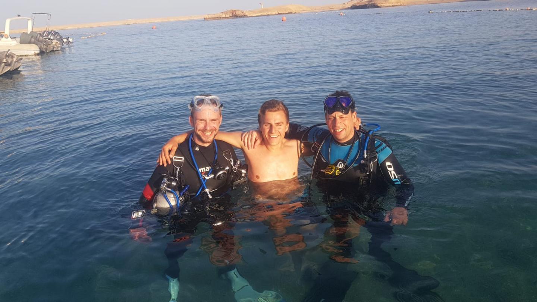 Benny, Patrick und Timm