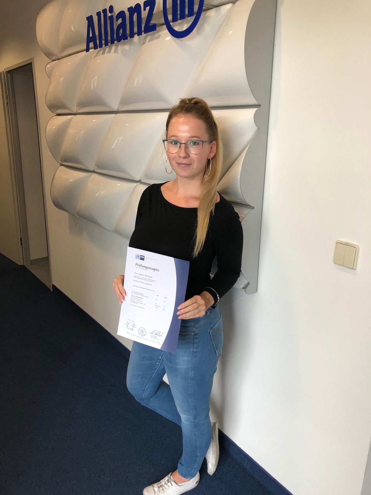 Anne-Sophie Wohlfarth Allianz Erfurt