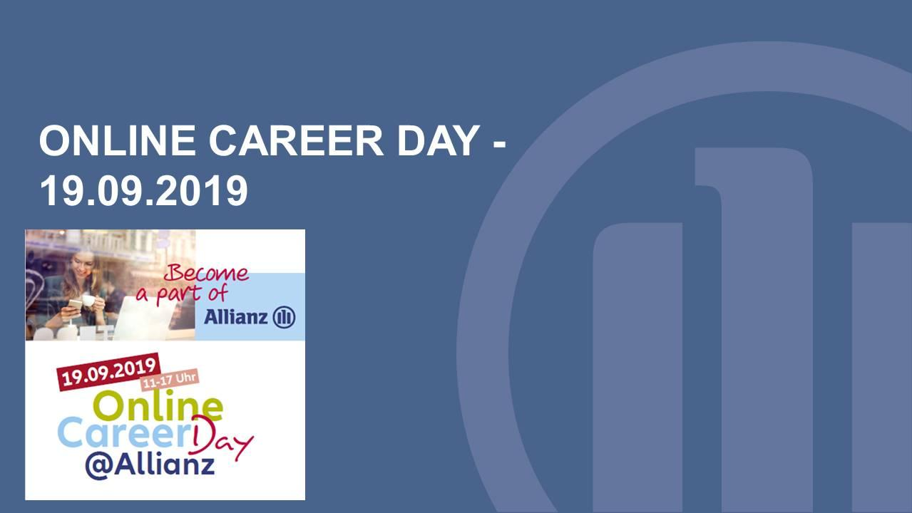 Online Career Day 2019