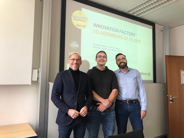 Innovation Factory zu Kryptowährung