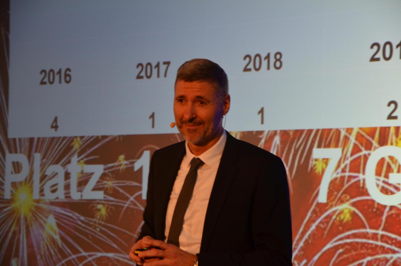 Geschäftsstellenleiter Manfred Leonhardt erföffnet die Jahresauftaktveranstaltung