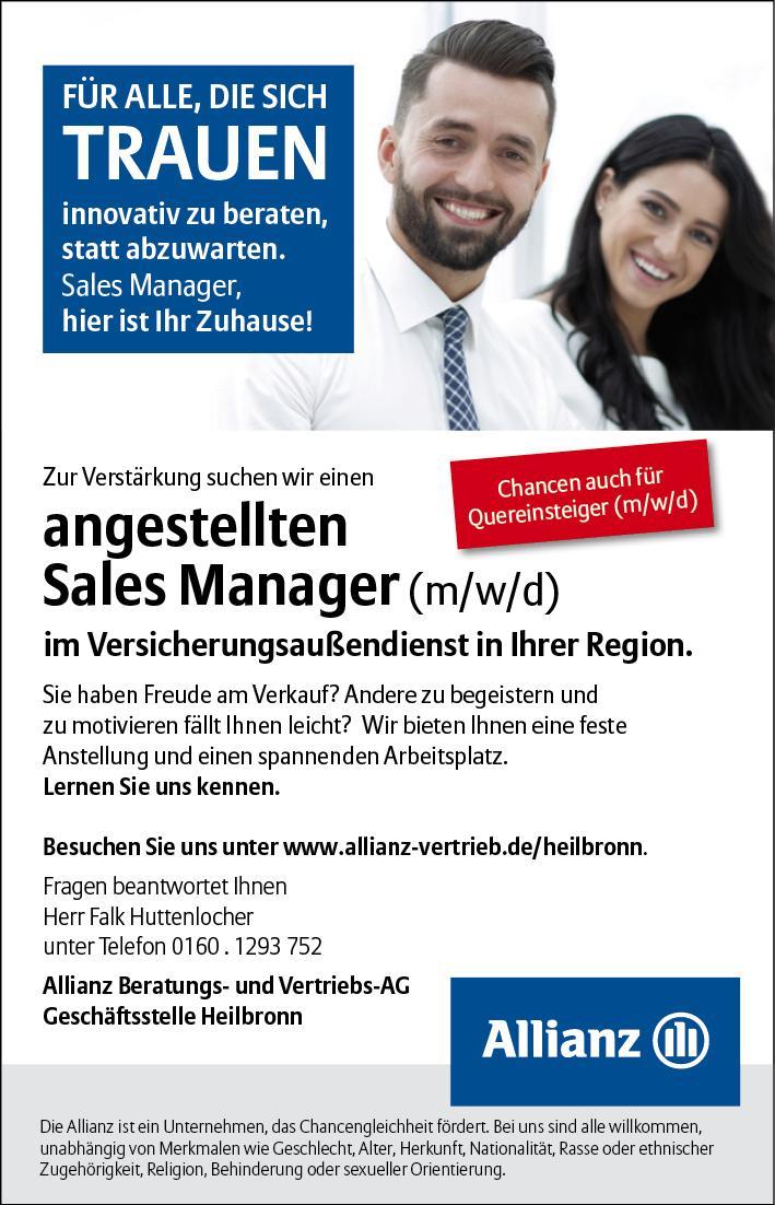 Sales Manager Allianz
