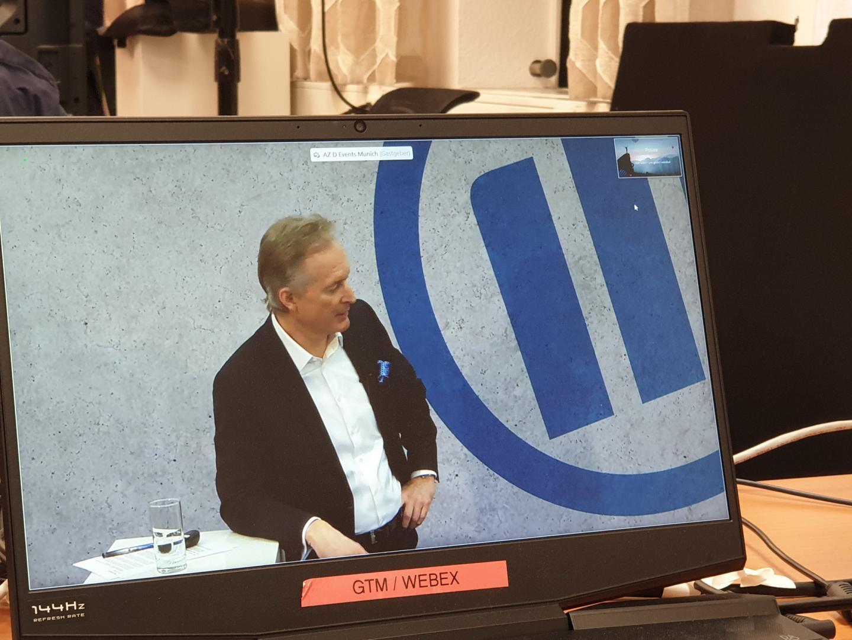 Jürgen Heinle, digitaler Ehrengast