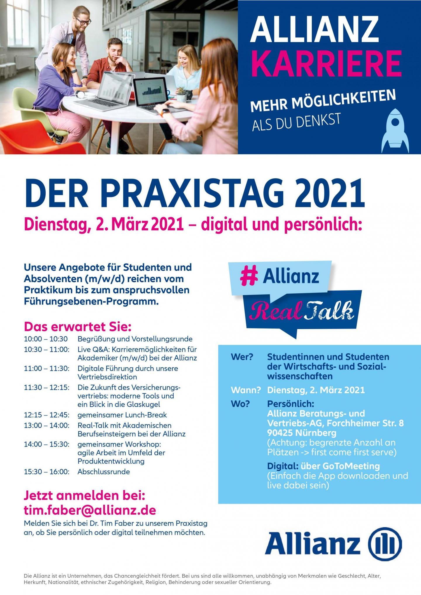 Der Praxistag 2021