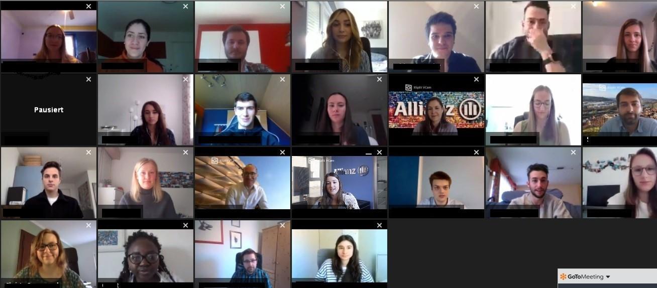 Teilnehmer:innen des #AllianzRealTalk