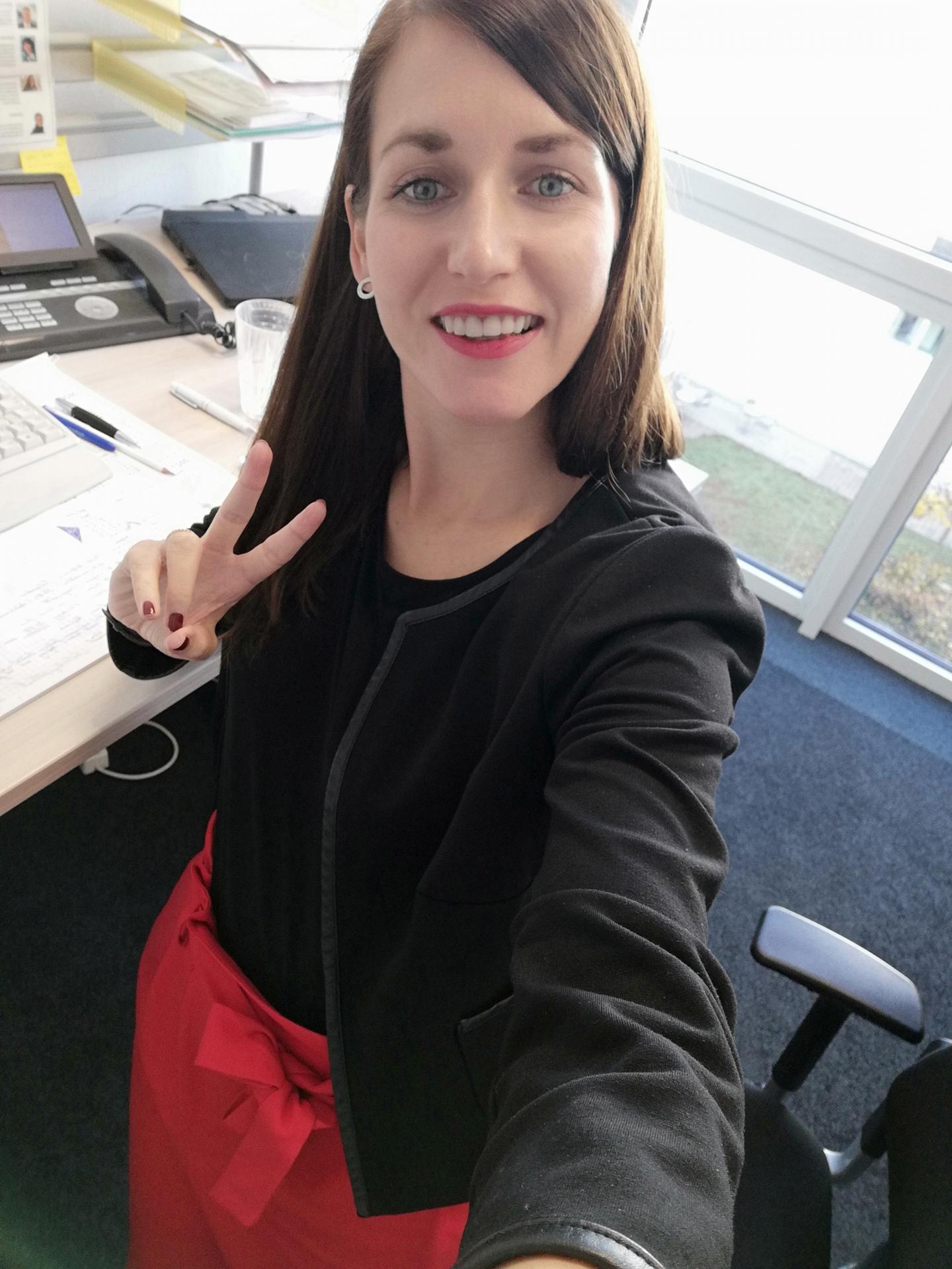 Unsere Büroleiterin aus der Geschäftsstelle